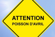 1er avril (poisson d'avril) 2021